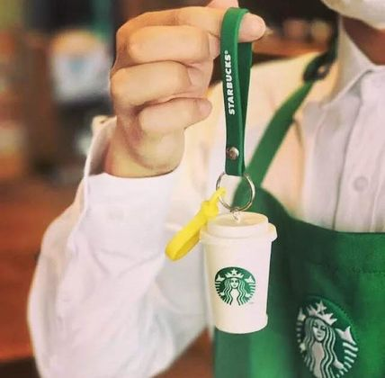 STARBUCKS Keychains & Bag Charms