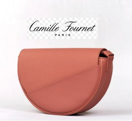 Leather Party Style Shoulder Bags