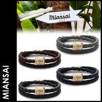 MIANSAI Plain Leather Bracelets