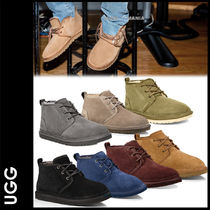 UGG Australia NEUMEL Plain Toe Sheepskin Plain Shoes