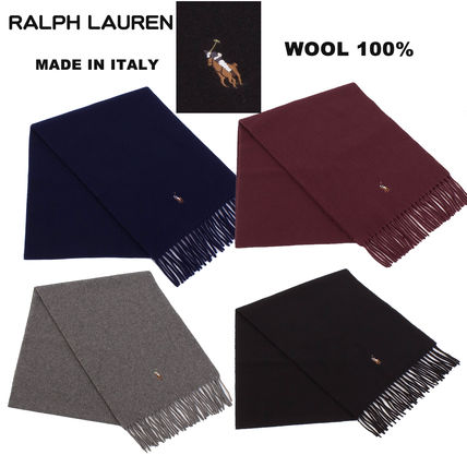 POLO RALPH LAUREN Wool Plain Scarves
