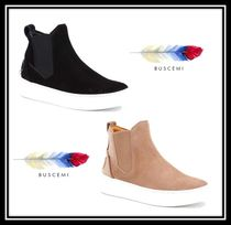 BUSCEMI Casual Style Suede Plain Ankle & Booties Boots