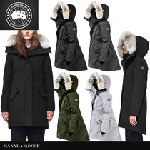 CANADA GOOSE ROSSCLAIR Fur Down Jackets