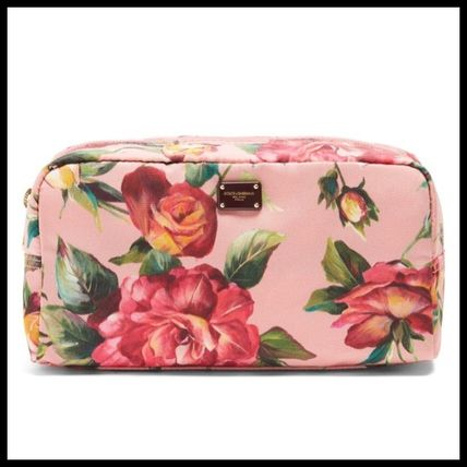 Dolce & Gabbana Flower Patterns Pouches & Cosmetic Bags