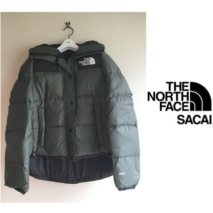 sacai Short Casual Style Collaboration Plain Down Jackets