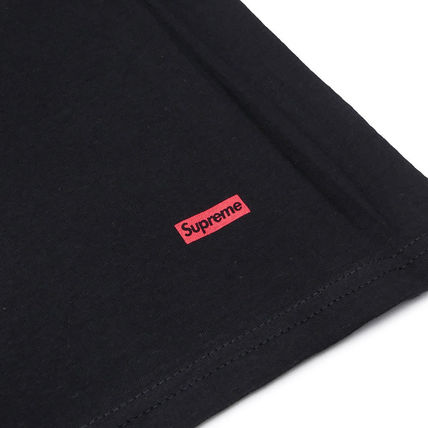 Supreme Crew Neck Crew Neck Street Style Collaboration Plain Cotton 2