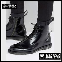Dr Martens Plain Leather Boots