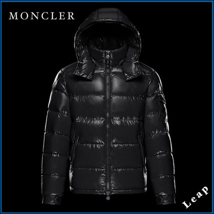 MONCLER Street Style Plain Down Jackets