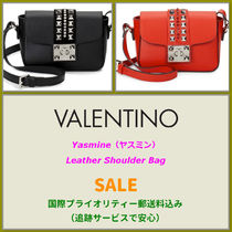 VALENTINO <SALE>  VALENTINO Yasmine Leather Shoulder Bag