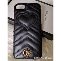 GUCCI GG Marmont Heart Leather Smart Phone Cases