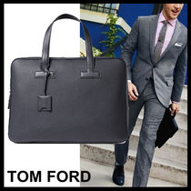 TOM FORD A4 Plain Leather Business & Briefcases