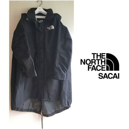 sacai Casual Style Collaboration Plain Long Coats