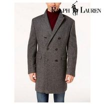 Ralph Lauren Wool Long Chester Coats