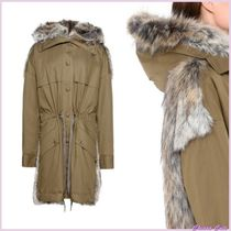 Stella McCartney Casual Style Blended Fabrics Plain Parkas