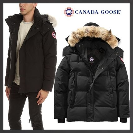 ... CANADA GOOSE Down Jackets Short Fur Street Style Down Jackets ...