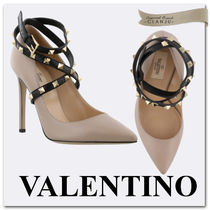 VALENTINO Studded Plain High Heel Pumps & Mules