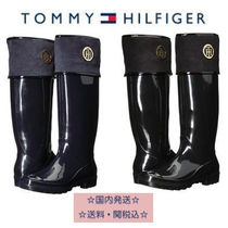 Tommy Hilfiger Round Toe Casual Style Plain Rain Boots Boots