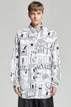 LAZY OAF Tropical Patterns Street Style Long Sleeves