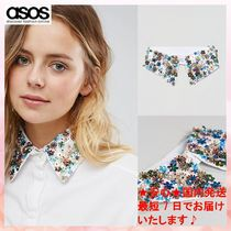 ASOS Flower Patterns Detachable Collars
