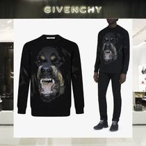 GIVENCHY Crew Neck Long Sleeves Other Animal Patterns Cotton
