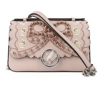 FENDI Double Micro Baguette With Waves Edging / Black & Pink
