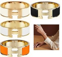 HERMES Bangles Costume Jewelry Casual Style Unisex Office Style
