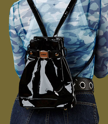 Casual Style Street Style PVC Clothing Backpacks