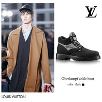 ca256a052f Louis Vuitton Blended Fabrics Leather Boots (1A37HB)