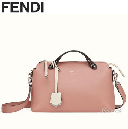 Fendi Handbags Regular Boston Bag Rose Pink