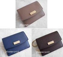 kate spade new york Plain Leather Small Wallet Accessories