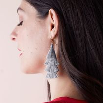 marc AND graham Casual Style Tassel Earrings & Piercings