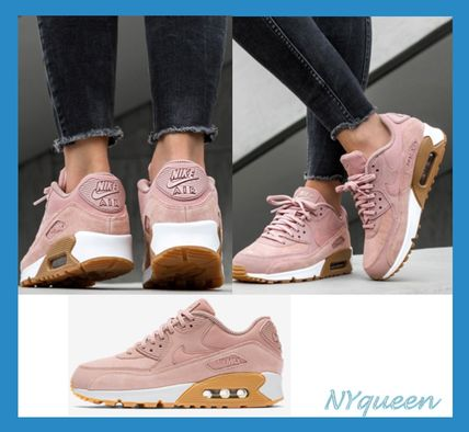 Casual Style Suede Street Style Plain Low-Top Sneakers