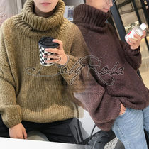 Street Style Plain Home Party Ideas Knits & Sweaters