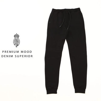Plain Cotton Joggers & Sweatpants