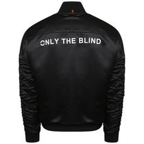 ONLY THE BLIND Short Street Style Varsity Jackets