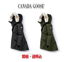 CANADA GOOSE ROSSCLAIR Plain Down Jackets