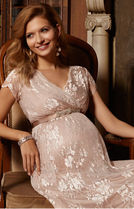 TIFFANY ROSE Maternity Dresses EDEN GOWN LONG(BLUSH)