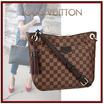 Louis Vuitton DAMIER Other Check Patterns Canvas Tassel 2WAY Bi-color