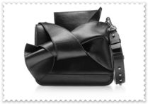 N21 numero ventuno 2WAY Plain Leather Elegant Style Crossbody Shoulder Bags