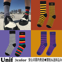 UNIF Clothing Stripes Cotton Socks & Tights