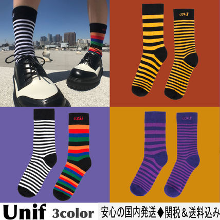 Stripes Cotton Socks & Tights