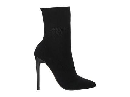 Steve Madden Ankle & Booties Casual Style Street Style Plain Pin Heels 8