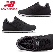 New Balance 373 Leopard Patterns Round Toe Casual Style Low-Top Sneakers
