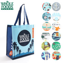 WHOLE FOODS MARKET Casual Style A4 Shoppers