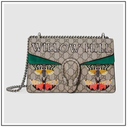 Willowhill Dionysus GG Supreme Embroidery Small Shoulder Bag