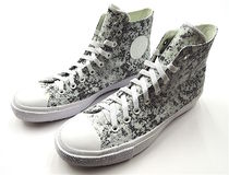 CONVERSE ALL STAR Lace-up Casual Style Unisex Street Style PVC Clothing