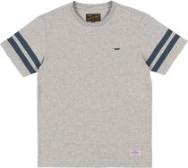 BENNY GOLD Henry Neck Street Style Cotton Short Sleeves Henley T-Shirts