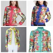 MONCLER ALISIA Flower Patterns Down Jackets