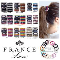 FRANCE Luxe Scrunchy Casual Style Elastics