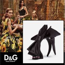 Dolce & Gabbana Casual Style Hair Accessories